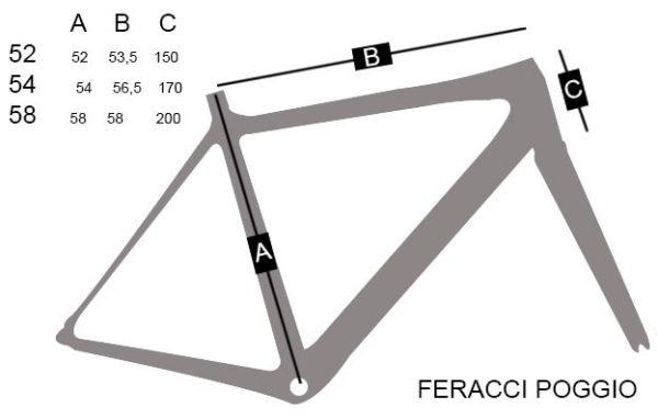 Vélo FERACCI POGGIO 105 NEUF -6255