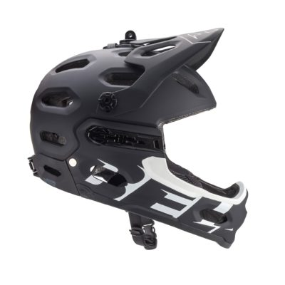 Casque BELL SUPER 3R Mat Black/White 2017-6657